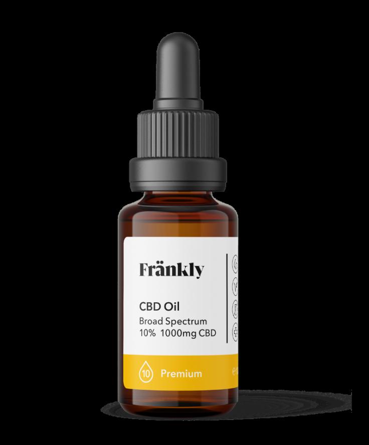 CBD Oil, Organic Hemp Complete 10%, 10ml Premium